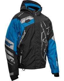 Castle X Code Snowmobile Jacket Black/Silver/Red