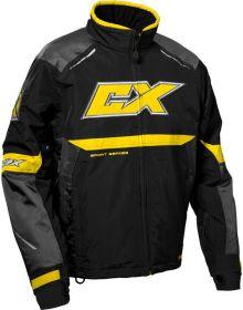 Castle X Blade G5 Snowmobile Jacket Charcoal/Yellow/Black