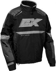 Castle X Blade G5 Snowmobile Jacket Charcoal/Silver/Black