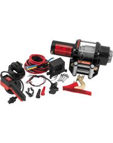 QuadBoss 2500lbs Winch with Wire Cable