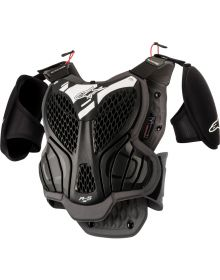 Alpinestars A-5 S Youth Body Protector Black/Cool Grey