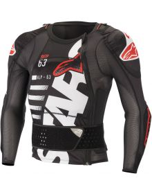 Alpinestars Sequence Long-Sleeve Jacket Protector Black/White/Red