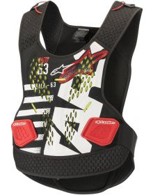 Alpinestars Sequence Roost Protector Black/White/Red