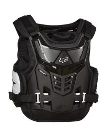 Fox Racing Raptor Proframe Youth Chest Protector Black/White