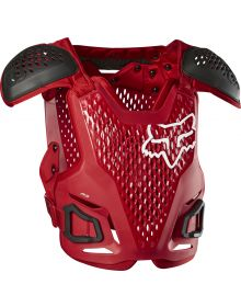 Fox Racing R3 Chest Protector Flame Red