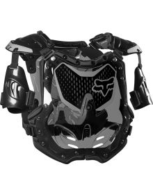 Fox Racing R3 Womens Chest Protector Black/Grey S/M