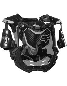 Fox Racing R3 Womens Chest Protector Black/Grey M/L