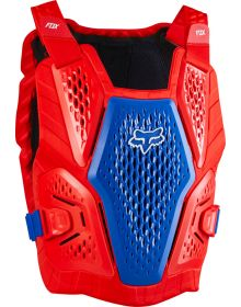 Fox Racing Raceframe Impact CE Chest Protector Blue/Red