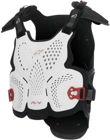 Alpinestars A-4 Chest Protector Black/White/Red