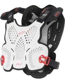Alpinestars A-1 Roost Protector Black/White/Red