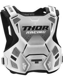 Thor Guardian MX Roost Guard White/Black