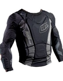 Troy Lee Designs BP7855 Under Jersey Chest Protector Black Long-Sleeve