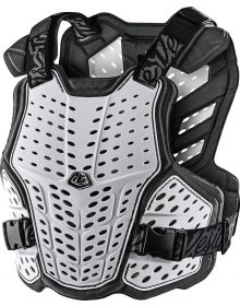 Troy Lee Designs Rockfight Chest Protector White