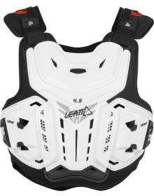 Leatt 3DF Body Protector 4.5 White XXL 198-286 lbs