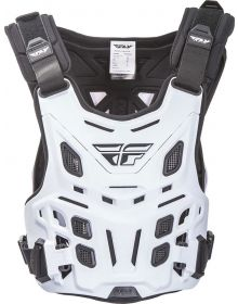 Fly Racing Revel Roost Race Chest Protector White
