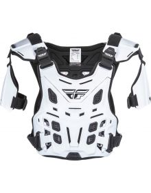 Fly Racing Revel Roost Offroad Chest Protector White
