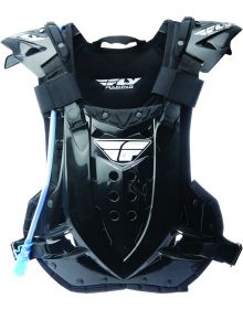 Fly Racing Stingray Roost Chest Protector Black W/Drink System