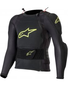 Alpinestars Bionic Plus Youth Long Sleeve Jacket Protector Black/Yellow