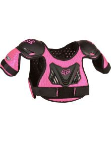 Fox Racing 2017 Titan Youth Chest Protector Black/Pink