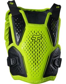Fox Racing Raceframe Impact CE Chest Protector Fluorescent Yellow