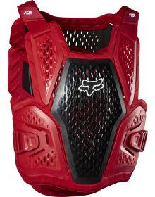 Fox Racing Raceframe Roost Youth Chest Protector Flame Red