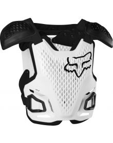 Fox Racing R3 Youth Chest Protector White