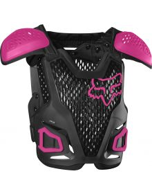 Fox Racing R3 Youth Chest Protector Black/Pink