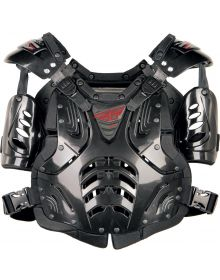 Fly Racing 2019 Convertible-II Youth Roost Guard Black
