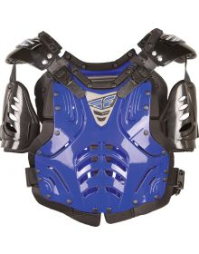 Fly Racing 2019 Convertible-II Youth Roost Guard Blue