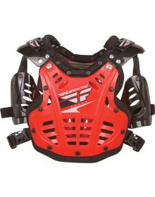 Fly Racing 2019 Convertible-II Mini Roost Guard Red
