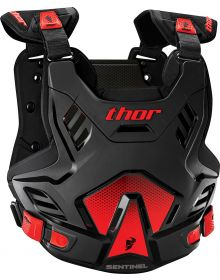 Thor Sentinel GP Chestprotector Youth Black/Red