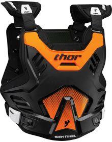 Thor Sentinel GP Chestprotector Youth Black/Orange