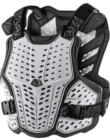 Troy Lee Designs Rockfight Youth Chest Protector White