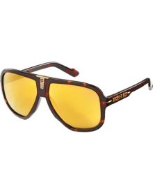 Fox Racing The Seventy 4 Sunglasses Brown Tortoise/Gold