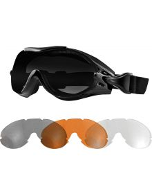 Bobster Phoenix Otg Glasses - Over Glasses Black