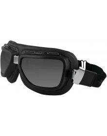 Bobster Pilot Goggle Black W/Clear & Smoke Lenses