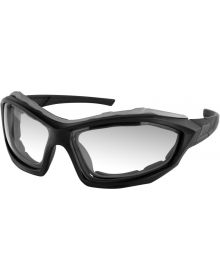 Bobster Dusk Sunglass Matte Black W/Clear Photochromatic