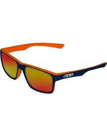 509 Deuce Sunglasses Orange Navy with Polarized Fire Mirror