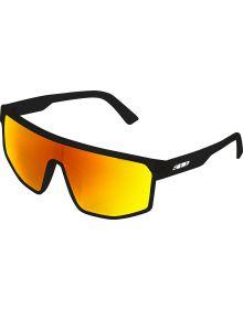 509 Element 5 Sunglasses Gloss Black/Polarized Fire Mirror Tint