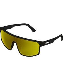 509 Element 5 Sunglasses Gloss Black/Polarized Yellow Mirror Smoke Tint