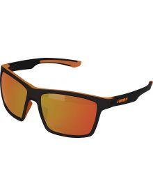 509 Risers Sunglasses Matte Dark Ops/ Polarized Orange Mirror Amber Tint