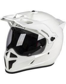 Klim Krios Karbon Adventure Helmet Gloss White