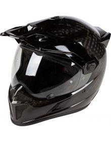 Klim Krios Karbon Adventure Helmet Gloss Karbon Black