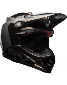 Bell Moto 9 Carbon Flex Helmet Seven Rouge Black/Chrome