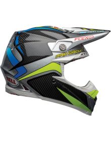 Bell Moto 9 Carbon Flex Helmet Pro Circuit Replica 19 Black/Green
