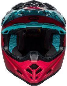Bell Moto 9 Mips Helmet Chief Black/Pink/Blue