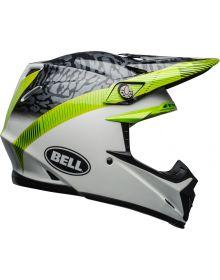 Bell Moto 9 Mips Helmet Chief Black/White/Green