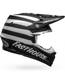 Bell Moto 9 Mips Helmet Fasthouse Signia Matte/Gloss Black/White