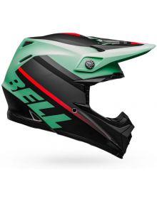 Bell Moto 9 Mips Helmet Prophecy Matte Green/Infared/Black