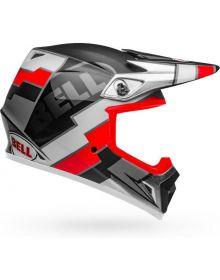 Bell MX-9 Mips Helmet Twitch Matte Black/Red/White